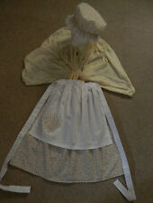 GIRLS/LADIES VICTORIAN  COSTUME, OLIVER TWIST,NANCY, MOP CAP, FANCY DRESS