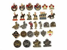RCMP - Royal Canadian Mounted Police Lapel Pins (B)