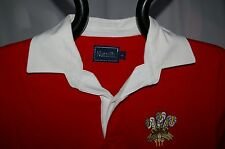 WALES RETRO CLASSIC COMBED COTTON WELSH RUGBY SHIRT
