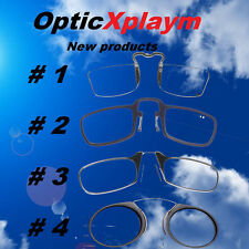 101% Authentic OPTICS Frame Metal Reading Glasses Strength Nose Case Nooze Thin