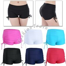 Sexy Womens Bikini Bottom Swim Brief Mini Boardshorts Beach Surf Shorts Swimwear