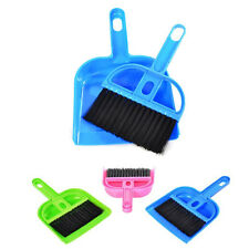 Mini Desktop Sweep Cleaning Brush Small Broom Dustpan Set For Dining table Sofa