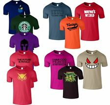 Mike Gym Harry Potter Motor Bike Daddy New Mens Casual Gym Wear Crew Neck TShirt