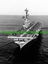 USS Valley Forge  LPH-8  Photo Military  Black n White  USMC UH-34 Helicopters