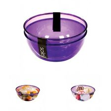 2 X Picnic Salad Dessert Serving Bowl Camping Outdoor Party Dinner Accessory