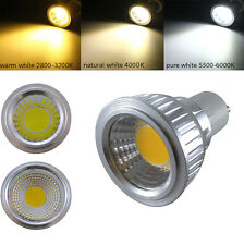 E27 GU10 GU5.3 MR16 5W COB LED Lamp WARM NATURAL Cool WHITE Spotlight Light Bulb