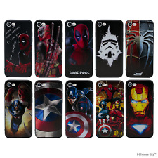"""3D Marvel Case/Cover Apple iPhone 6 6s (4.7"""") / Screen Protector / Gel Silicone"""
