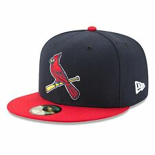 St. Louis Cardinals 2017 59Fifty Authentic Fitted Performance Alternate 2 MLB