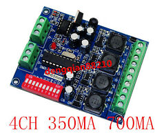 Constant Current 350mA 700mA High Power Controller DMX512 RGBW 4 Channel Decoder