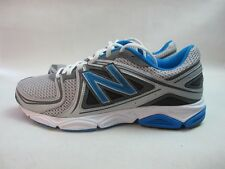 Mens New Balance M580v3 Running Sport Shoes Silver Blue Lace Up Trainers