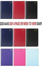 2018 A4/A5 Size Week to View/Day a Page Diary-Hardback Diary Quality Paper
