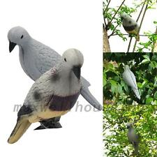 New Pigeon Decoy Pest Control Yard Hunting Bait Trap Bird Scarer Scarecrow Decor