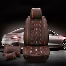 Buy Comfort Leather Ice Silk Car Seat Cover Universal Chair Cushion Waist Pillow