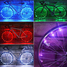 Safety Colors 20 LEDs Bicycle Cycling Cool Spoke Wheel Light Bike Accessories CH