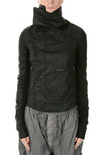 RICK OWENS DRKSHDW New woman Black cotton Blend Jacket Made in Italy