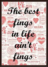 Funny Poster Slang Quote - A4 & A3 Sized Art Print For Home, Pub, or Restaurant