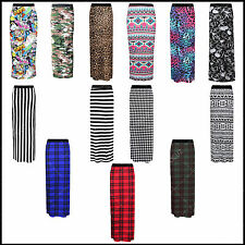 Ladies Womens Sexy Gypsy Maxi Skirt Printed Hot Hen Night Dance Party Costume Σ