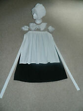 GIRLS,LADIES VICTORIAN, FLORENCE NIGHTINGALE, BONNET ETC, COSTUME, FANCY DRESS