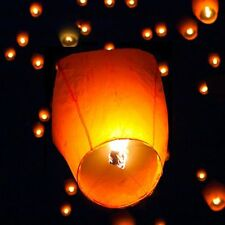 50X Chinese KongMing Sky Flying Lanterns Fire Light Wishing Lamp Wedding Party