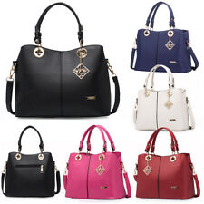 Women PU Leather Handbag Shoulder Satchel Messenger Bag Toto Purse Hobo Fashion