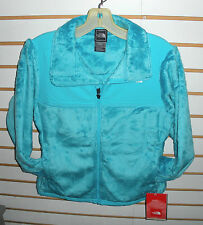 THE NORTH FACE GIRLS DENALI THERMAL FLEECE JACKET -# AQLK -XS-TURQUOISE BLUE