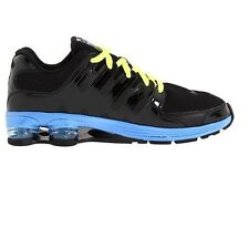 NIKE AIR SHOX LUNAR BLACK BLUE RUNNING MEN SZ 10  *  429876-002 *