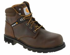 "Carhartt Mens 6"" Safety Toe Work Boot Brown Style CMW6274"