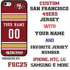New Custom SAN FRANCISCO 49ers phone Case Cover for iPhone 6 6 PLUS 5 5s 5c 4 4s
