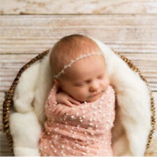 Small Ball Vintage Style New Mini  Newborn Photography Props Wrap Cloth Blanket