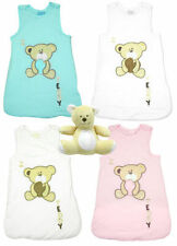 Baby Sleep Bag Sack Gift 2.5 Tog Sleeping Teddy Bear Set Newborn to 12 Months