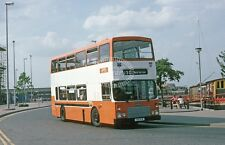 PHOTO Grimsby Cleethorpes Dennis Dominator 81 G81VFW in 1990 in Grimsby