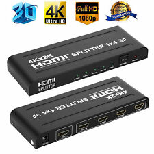 Ultra HD 4K HDMI Splitter 1x2 1x4 1x8 2x8 Amplifier Repeater Hub 3D 1080P 2160P