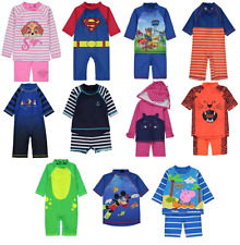 Sun Protection Swimwear UV Sunsafe Surfsuits All Sizes Boys and Girls NEW BNWT
