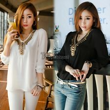 2014 Hot Sell ! Korean Style Fashion Women's Girl Long Sleeve WT8803