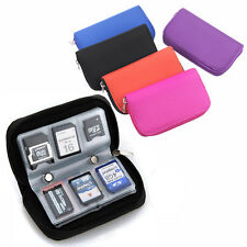 Memory Card Storage Carry Case Holder Wallet 18slots+4slots For CF/SD/SDHC/MS/DS