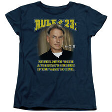 NCIS: GIBBS RULE #23 Never Mess with a Marine's Coffee Women's T-Shirt All Sizes