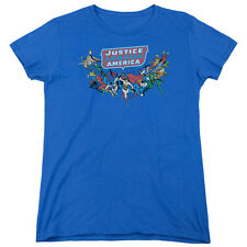 Justice League Heroes HERE THEY COME Licensed T-Shirt All Sizes