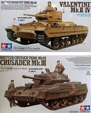 Tamiya 1/35 Tank New Plastic Model Kit 1 35