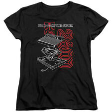 Atari 2600 Video Computer System Schematic Licensed Women's T-Shirt All Sizes