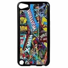 MARVEL DC Comics Plastic Case Cover for iPod 4th - 5th - 6th Generation D1