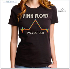 Official PINK FLOYD T-Shirt/Pink Floyd 1973 DSOM Tour Tee,Retro-New Issue