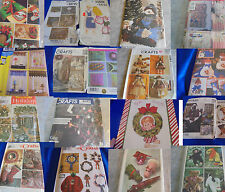 U PICK SEWING PATTERNS CRAFTS DOLL CHRISTMAS MORE