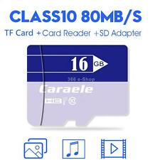 Micro SD SDHC TF Memory Card High Speed Class 10 With Card Reader SD Adapter