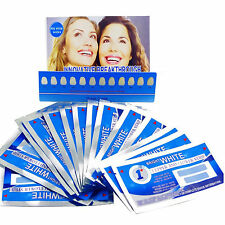 FULL COURSE of 1 HOUR PROFESSIONAL Teeth Whitening 28 Strips (14 pouches)