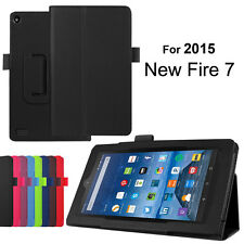 PU Leather Magnetic Folio Case Cover Skin Stand for Amazon Kindle Fire HD 7''
