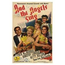 and the Angels Sing Movie Poster (11 x 17). Shipping Included