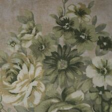 Quilt Fabric Cotton Calico Green Floral 101 by JoAnn Fabrics: FQ or Cut-to-Order