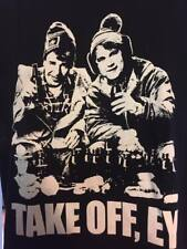 Strange Brew - Take Off T-shirt  McKenzie Brothers Cult Movie Comedy Beer Hosers