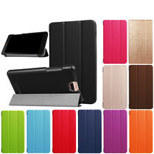 """Folding Stand Leather Folio Case Cover For Acer Iconia Talk S A1-734 7""""Tablet PC"""