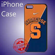 ED# Syracuse University Sports Case Cover For iPhone 8 8+ 7+ 7 6s+ 6+ se 5c 5s